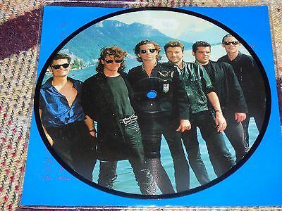 "INXS: Interview 1988-Kirk Pengilly  & Tim Fariss, 7"" Vinyl 1983"