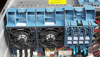 set of 3 system fans for HP ML150 G6 or ML330 G6 - 2 front and 1 rear fan