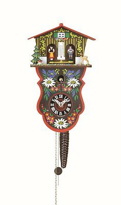 Quarter call cuckoo clock with 1-day movement and weather house Swiss House TU