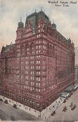 Waldorf Astoria Hotel New York City NY 1916 Postcard Divided Back Success Card
