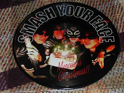 "Smash Your Face: Merciless Christmas!!, 7"" Picture Disc 1998 Japanese"