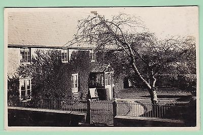 Somerset : East Cramnore ? : Edwardian Real Photo Postcard