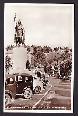 Winchester [Hampshire] : Vintage Real Photo Postcard