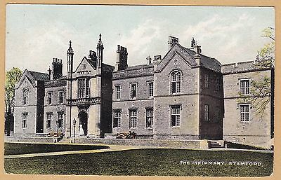 Stamford [Lincolnshire] : The Infirmary : Edwardian Postcard