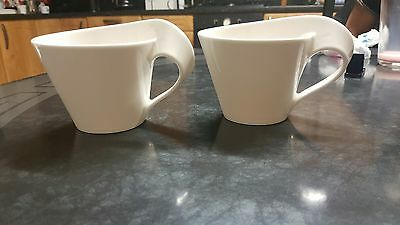 Pair of Villeroy & Boch new wave cups