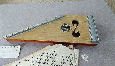 Vintage Zippy Zither Musical Instrument- START YOUR OWN BAND!