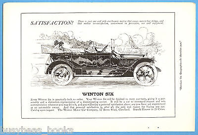 1914-15 WINTON Motor Car advertisement, Winton Six Phaeton