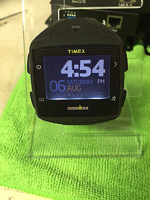 Timex Ironman One GPS+ Watch Black/Gray with Heart Rate Monitor