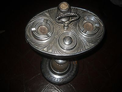 vintage smoking stand duro  made beautiful and complete  working