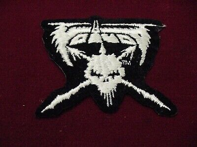 "set of 2 VOIVOD EMBROIDERED 80'S METAL-IRON ON PATCH- 4"" OFFICIAL"