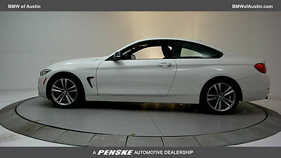 2014 BMW 4-Series 428i xDrive 428i xDrive 4 Series 2 dr Coupe Automatic Gasoline 2.0L 4 Cyl Alpine White