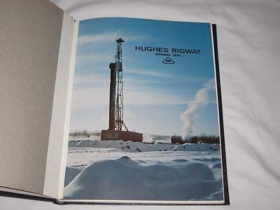 1974 Howard Hughes Tools Rigway Magazine Hardbound 4 Issues Oil Drilling Rigs