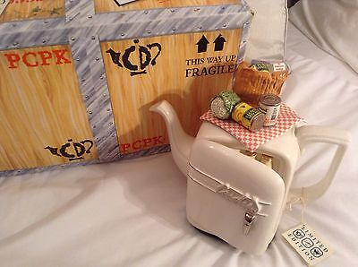 Cardew Novelty Collectable Large Fridge Teapot Original Box Great Condition
