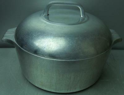 Vintage Wagner Ware Sidney-O Magnalite 4248-M Dutch Oven with Lid