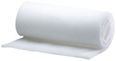 Thermal Bonded Wadding, 100% Polyester, 150gsm, 150cm Wide per Metre