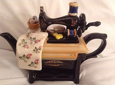 Cardew Collectable Novelty Large Sewing Machine Infusion Teapot Lovely Condition