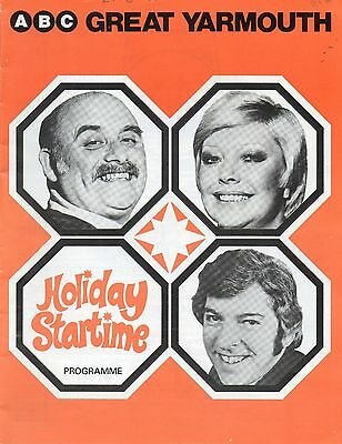 Gt Yarmouth Abc 1977 'holiday Startime' Tom O'connor Programme. .