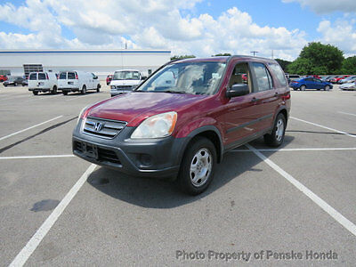 2006 Honda CR-V 4WD LX Automatic 4WD LX Automatic 4 dr SUV Automatic Gasoline 4 Cyl Redondo Red Pearl