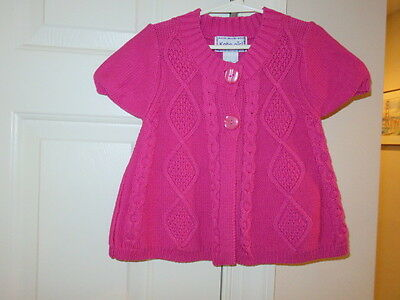 EUC!!  Kobe Girl Pink Cropped Sweater - Size Girls 7-8