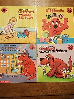 Lot of 5 Norman Bridwell Clifford Children's Books
