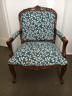 Antique Wooden Occasional Chair