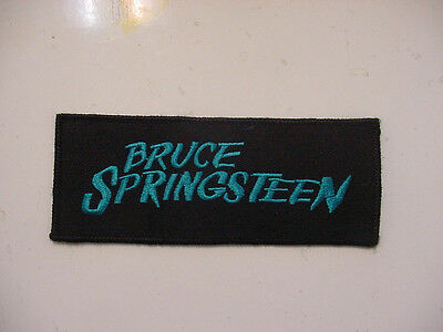 "Bruce Springsteen  Embroidered 80's Rock-Iron On Patch- 5.5""long"