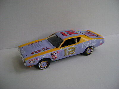 Bobby Allison #21 Custom 1971 Charger Coca-Cola (Marty Robbins) Built Model 1/25