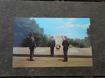 VTG Postcard Tomb of the Unknown Soldier Washington DC