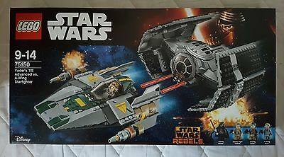Lego Star Wars Vader's TIE Advanced vs A-Wing Starfighter 75150 - NEW & SEALED