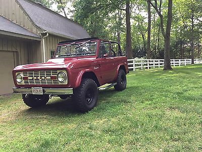 1966 Ford Bronco  Restored 1966 Ford Bronco with 351 and Hard Top