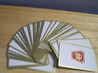 Pennsylvania Railroad Collectable Playing Cards 1950s Double-Deck