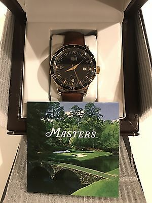 2017 Masters Collectors Watch 569 Of 800 Limited Edition
