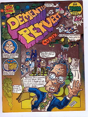 Adults  - Demented  Pervert  -   Print  Mint 1971  -  Very  Fine  8.5  -  Nice !
