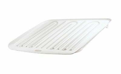Rubbermaid Antimicrobial Drain Board Large White