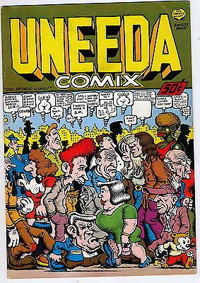 Adults  -  Uneeda  Comix  -  Print  Mint  -  July   1970  -  Very  Fine  7.5
