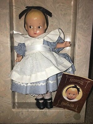 New In Box Effanbee Doll Patsyette In Storyland Alice In Wonderland Vintage Nib