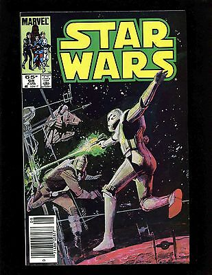 Star Wars #98 (Newsstand) VF+ Sienkiewicz Williamson Han Solo Lando Calrissian