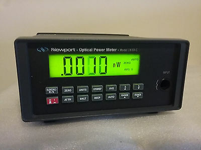 NEWPORT 1830-c Optical Power Meter Tested By Testel In 2016 110V-230V USA Made
