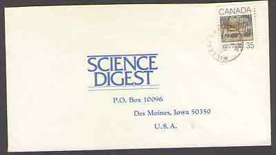 Canada.  to US Postal Cover -B22