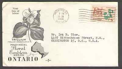 Canada.  to US Postal Cover -H88