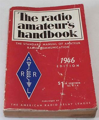Vintage The Radio Amateur's Handbook 1946 Pretty Nice For A 71 Year Old Book