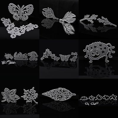 Bush Leaf Tree Cutting Dies Stencil DIY Scrapbooking Embossing Album Card Craft