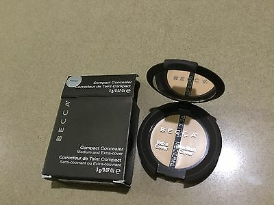 BECCA Compact Concealer Medium and Extra-cover, Parfait - Brand new and boxed!