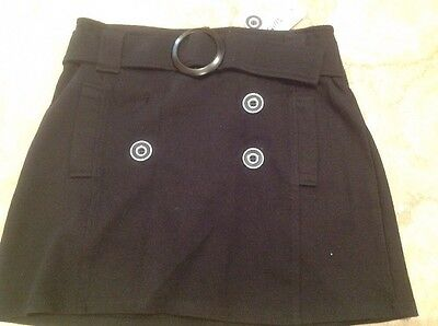 Girls Size 12 Black Skirt New With Tags