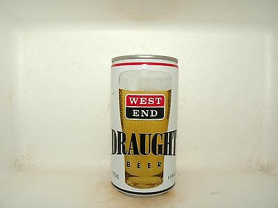 WEST END DRAUGHT 375ml 4.5% EMPTY BEER CAN