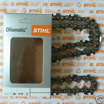 """18"""" 45cm Genuine Stihl RS3 Chainsaw Chain MS362 MS361 MS341 3/8"""" 66 Tracked Post"""