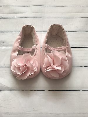 Baby Girls Shoes 0-3 Months - Pretty Pram Shoes  -