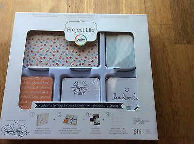 ~ Project Life ~ Becky Higgins Core Kit. Currently Edition. Brand New Sealed