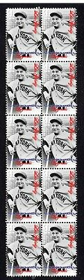 New York Yankees Legends Baseball Stamps, Lou Gehrig