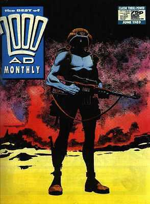 Best of 2000 AD Monthly No. 45 w/ Rogue Trooper * Fleetway 1989 * Mint Condition